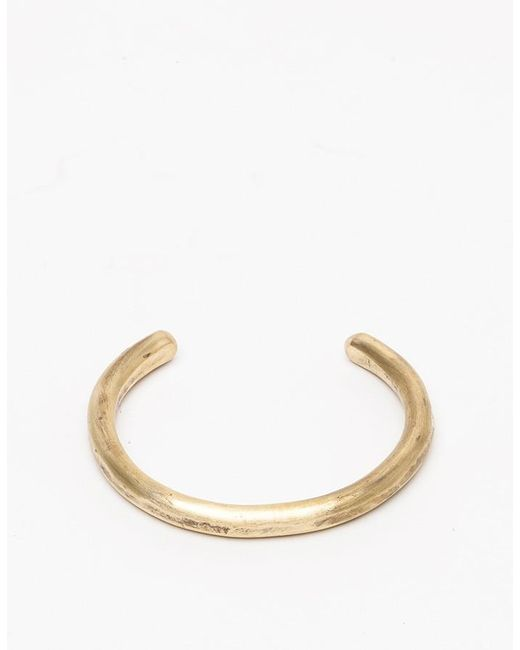 Cause and Effect | Metallic Brass Bar Cuff for Men | Lyst