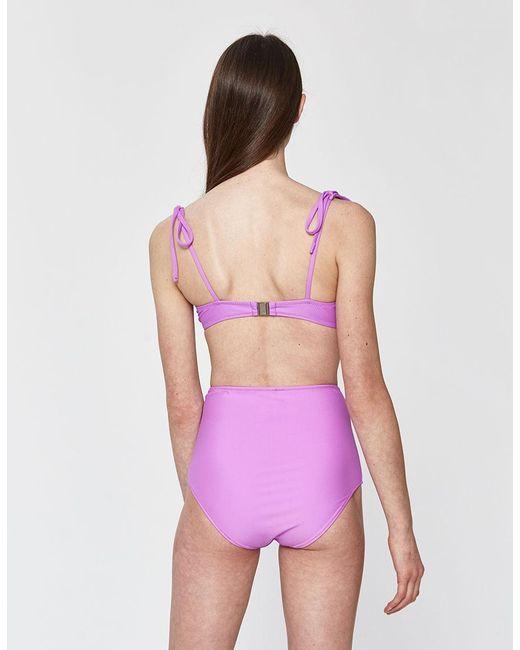 99d17fcab918b ... Araks - Purple Myriam Bikini Top - Lyst ...
