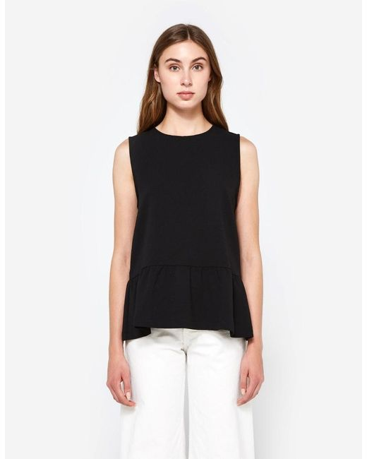 Ganni - Natural Clark Top - Lyst