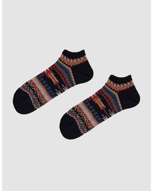 Chup - Blue Low Sock In Denim for Men - Lyst