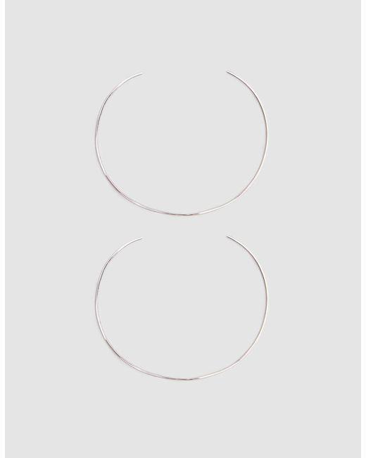 Loren Stewart - Metallic Set Of Two Sterling Silver Wire Cuffs - Lyst