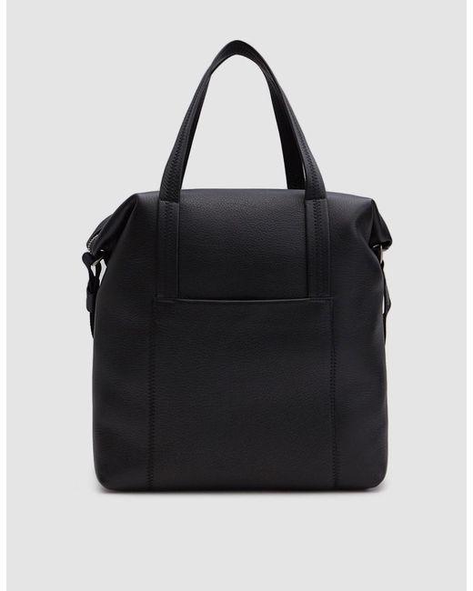 Maison Margiela - Black Soft Grain Leather Helmet Bag for Men - Lyst