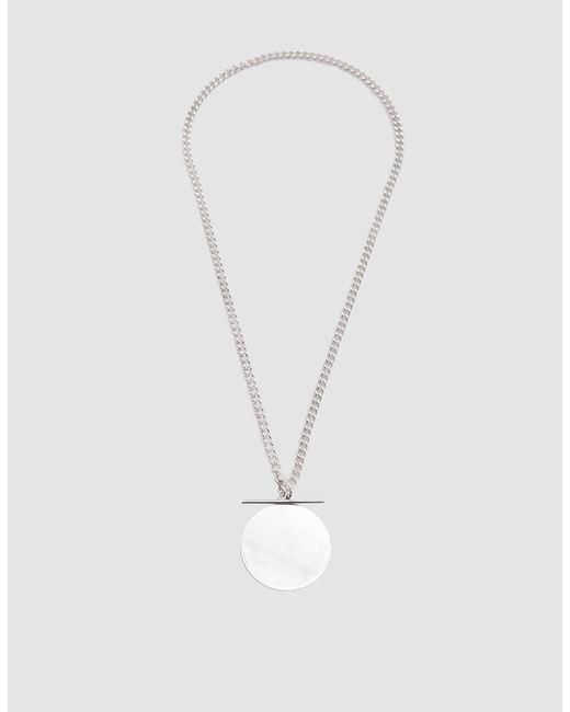 Loren Stewart - Metallic Xl Toggle Disk Necklace - Lyst