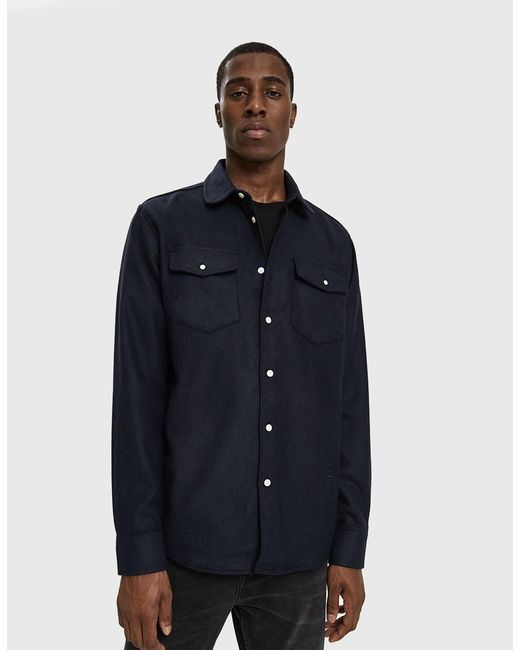 Soulland - Blue Tom Western Shirt for Men - Lyst