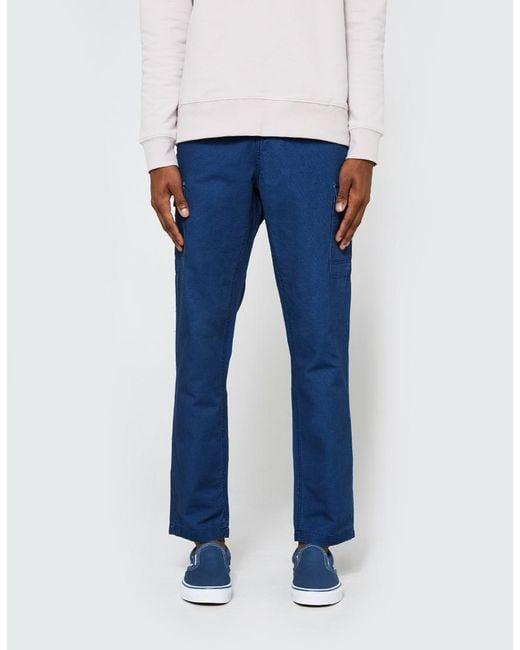 Native Youth | Blue Cromer Trouser In Indigo for Men | Lyst