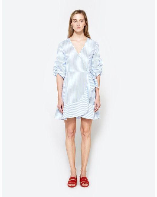 Farrow | Blue Agnes Dress | Lyst
