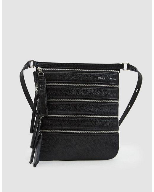 Kara - Black Multi Zip Waist Bag - Lyst