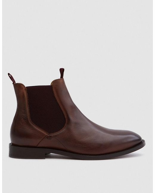 H by Hudson - Wynford Calf In Brown for Men - Lyst