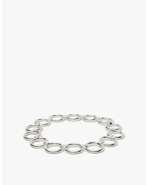 Saskia Diez | Metallic Bold Collier In Silver | Lyst