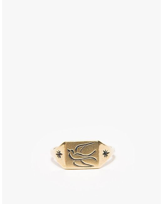 Lhn Jewelry | Metallic Small Swallow Ring for Men | Lyst