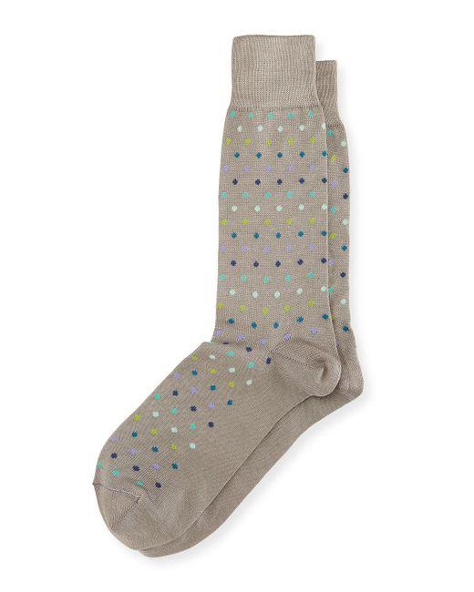 Paul Smith | Gray Multicolor Pin-dot Socks for Men | Lyst