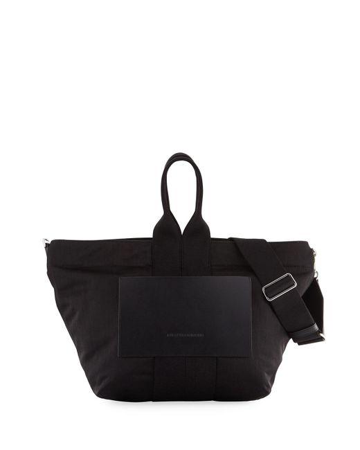 Alexander Wang - Black Aw Small Soft Nylon Tote Bag - Lyst