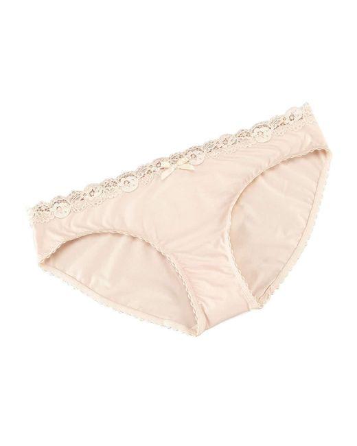Hanro   Natural Valerie Bikini Briefs   Lyst