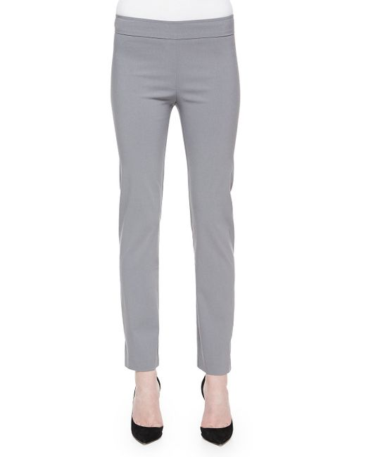 Avenue Montaigne   Gray Billy Ankle Pants   Lyst