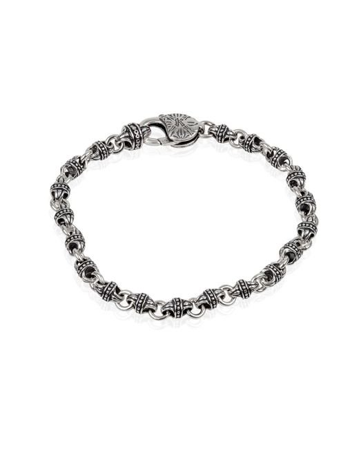 Konstantino | Metallic Men's Sterling Silver Mini-link Bracelet for Men | Lyst