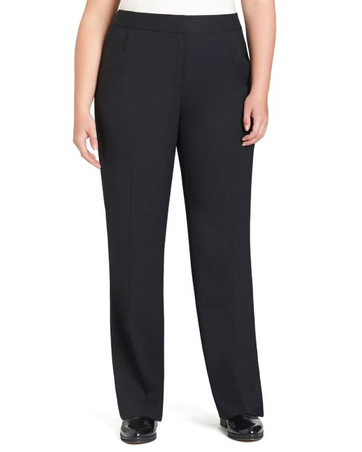 Lafayette 148 New York | Blue Menswear Straight-leg Stretch-wool Pants | Lyst