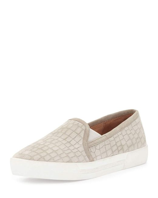 Joie | Natural Huxley Suede Slip-on Sneaker | Lyst