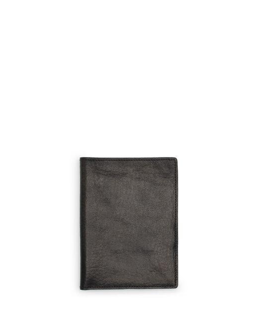 Shinola   Black Leather Passport Holder for Men   Lyst