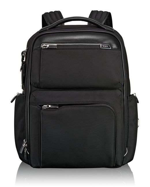 Tumi | Arrive Black Bradley Backpack | Lyst