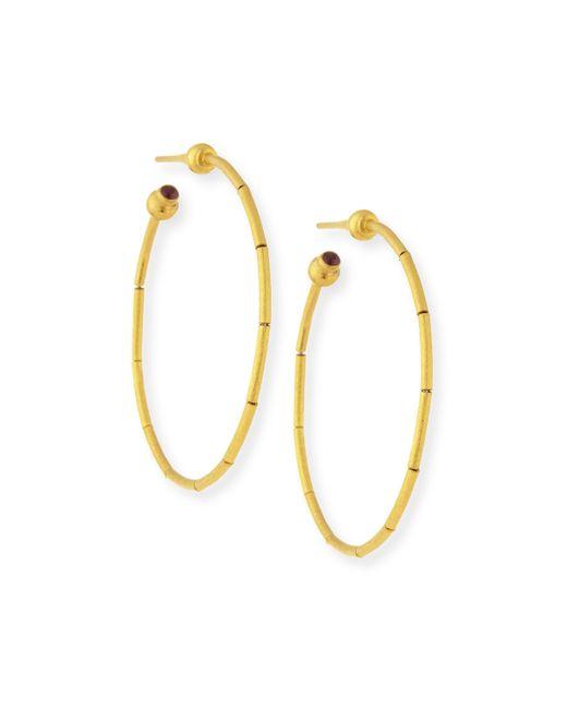 Gurhan | Metallic 24k Small Rain Hoop Earrings | Lyst