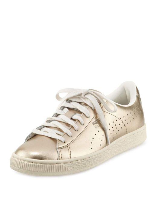 PUMA   Basket Classic Citi Metallic Low-top Sneaker   Lyst