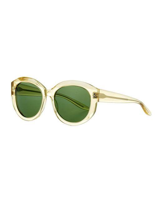 Barton Perreira   Green Patchett Translucent Sunglasses   Lyst