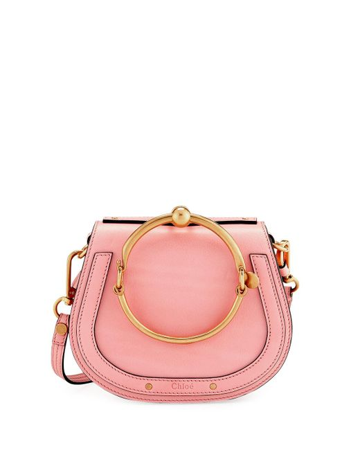 Chloé | Pink Nile Small Bracelet Crossbody Bag | Lyst
