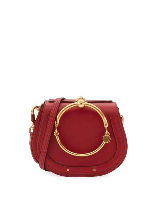 Chloé | Red Nile Small Bracelet Crossbody Bag | Lyst