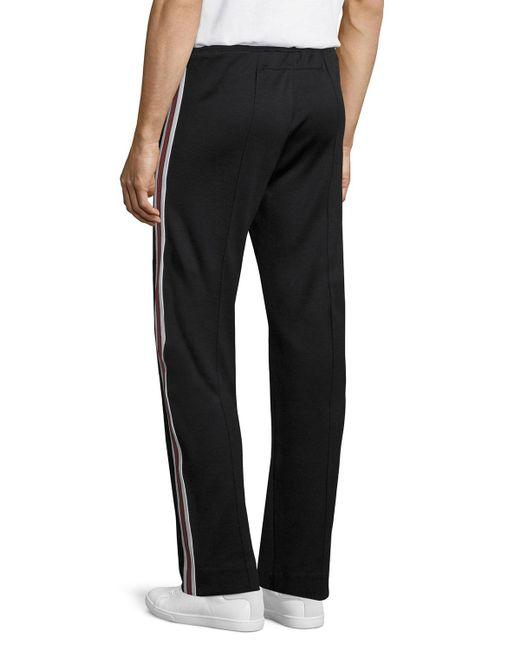 2018 New Fashion Men Pencil Pants Hip Hop Side Stripe
