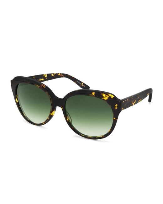 Barton Perreira | Green Marvalette Butterfly Sunglasses | Lyst
