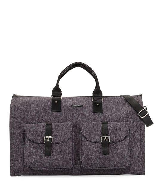 Hook + Albert | Multicolor Melange Carry-on Garment Weekender Bag | Lyst