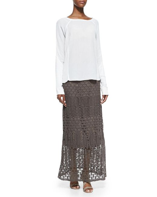 XCVI | Multicolor Cecilia Crochet Skirt | Lyst