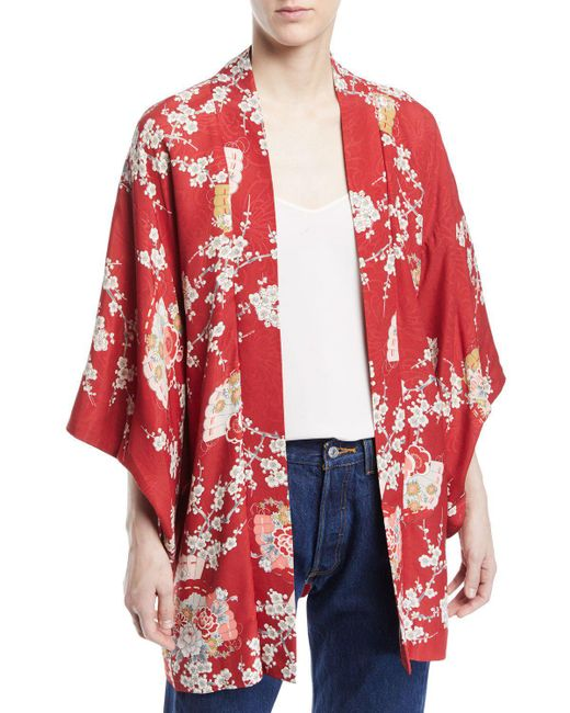 Elizabeth and James - Yellow Vintage Kimono (assorted) - Lyst