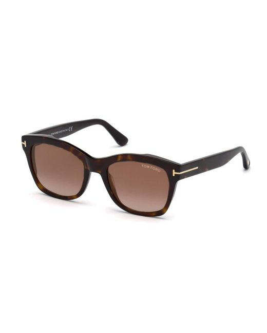 Tom Ford - Brown Lauren 02 Square Sunglasses - Lyst