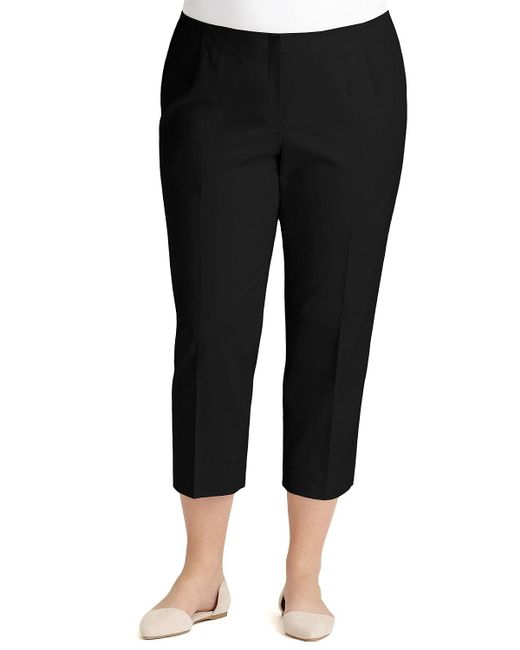 Lafayette 148 New York - Black Bleecker Cropped Pants - Lyst