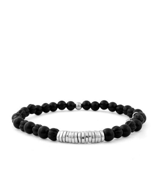 Tateossian - Black Men's Onyx Beaded Bracelet for Men - Lyst