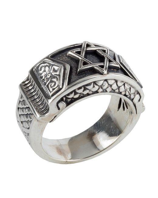 Konstantino - Metallic Men's Sterling Silver Star Of David Ring for Men - Lyst