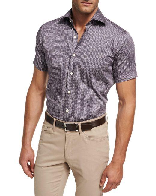 Peter Millar - Multicolor Petite Fleur Short-sleeve Sport Shirt for Men - Lyst