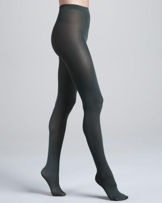 Wolford - Black Velvet Luxe 66 Tights - Lyst