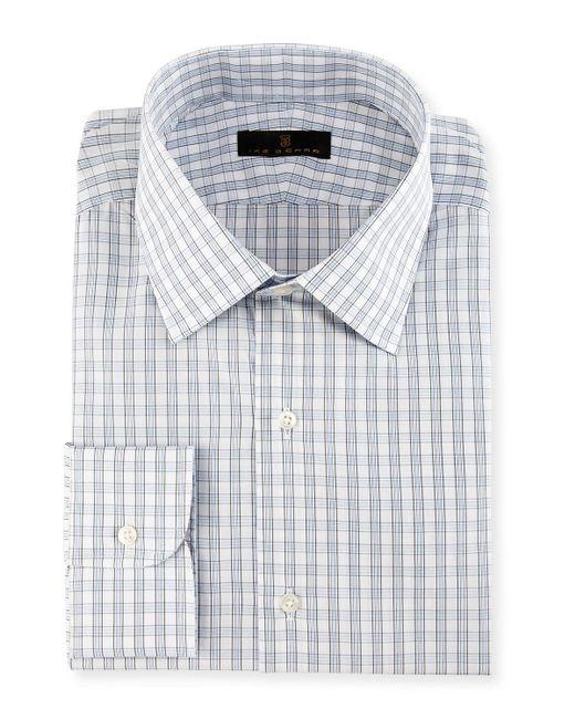 Ike Behar | Purple Gold Label Check Dress Shirt for Men | Lyst