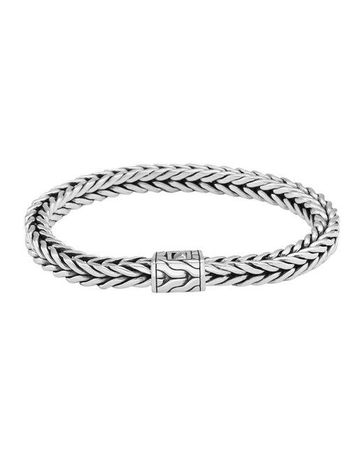 John Hardy   Metallic Men's Square Chain Bracelet for Men   Lyst