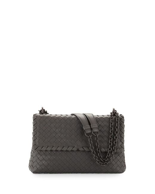 Bottega Veneta - Gray Olimpia Medium Shoulder Bag - Lyst