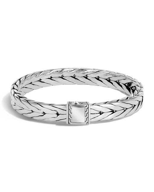 John Hardy - Metallic Men's Sterling Silver Modern Chain Bracelet for Men - Lyst