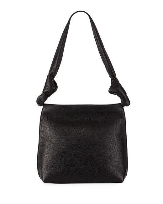 The Row | Black Small Wander Shoulder Bag | Lyst