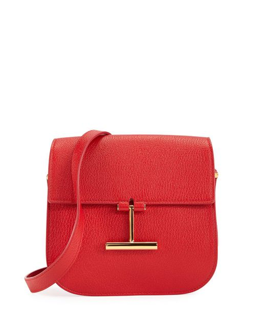 Tom Ford - Red Mini Tara Crossbody Bag - Lyst