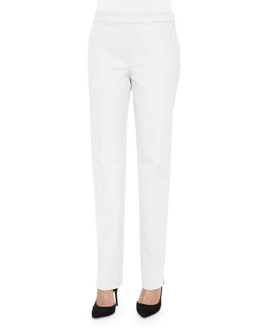 Lafayette 148 New York - White Bleecker Jodhpur Cloth Pants - Lyst