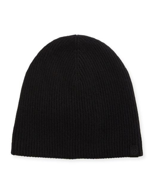 Rag & Bone | Black Ace Cashmere Beanie Hat for Men | Lyst
