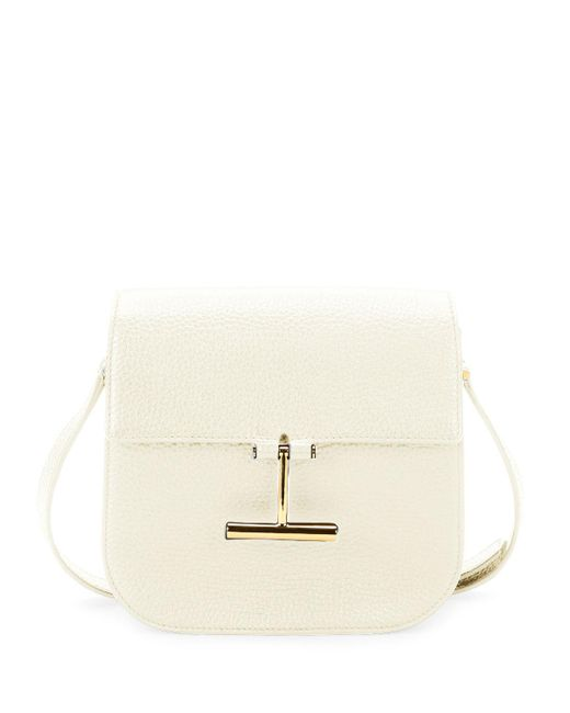 Tom Ford - White Tara Small T Clasp Shoulder Bag - Lyst