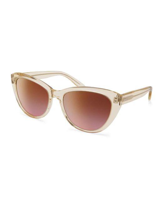 Barton Perreira   Multicolor Graziana Cat-eye Acetate Sunglasses   Lyst