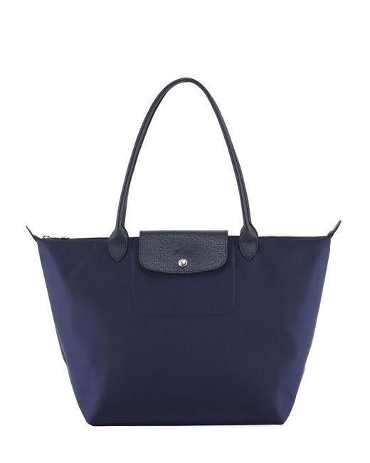 Longchamp - Blue Le Pliage Neo Large Nylon Tote Bag - Lyst